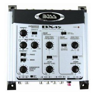 Boss BX45 2/3 Way Electronic Crossover Remote Subwoofer