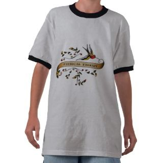 Swallow and Scroll with Physical Therapy T Shirt