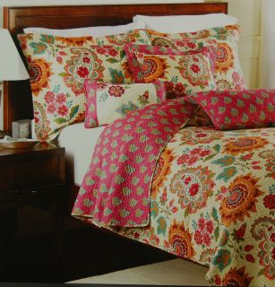 HOLLY ROBINSON PEETE 3 PC. QUEEN QUILT SET   NEW