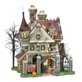 Department 56 Snow Village Mickeys Haunted House Home