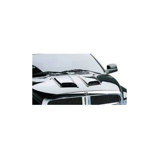 Auto Ventshade Hood Scoops, Medium 2 Pc, for the 2002 Dodge Dakota