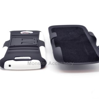 Kickstand Hybrid Case + Holste for HTC ONE S Ville T Mobile Accessory