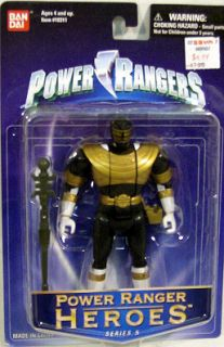 Power Rangers Heroes Series 5 Zeo Auto Morphin Gold Ranger by Bandai
