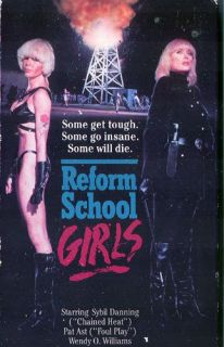 Reform School Girls [VHS] Linda Carol, Wendy O. Williams
