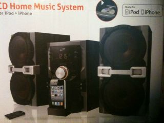 Home Stereo System iPod iPhone Compatible