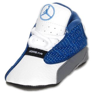 Air Jordan Retro 13 Crib Shoe French Blue/Flint