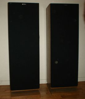 2 Sony SS U601AV Home Stereo Speakers