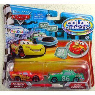 Disney / Pixar CARS Movie 155 Color Changers 2Pack
