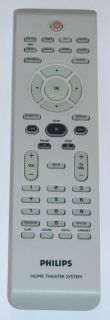 ORIGINAL PHILIPS HOME THEATER SYSTEM REMOTE CONTROL 242254900902