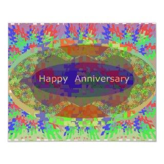 Oriental Arts Lips   Happy Anniversary Poster