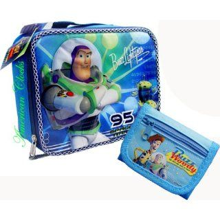 Disney Toy Story Buzz Lightyear Lunch Bag and Coin Wallet