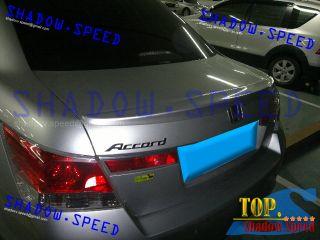 Painted Honda Accord Sedan OE Style Rear Trunk Roof Lip Spoiler 08 12