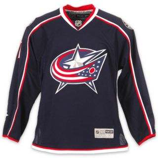 Reebok Columbus Blue Jackets Rick Nash NHL Premium Mens Hockey Jersey