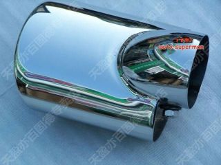 Chrome Exhaust Muffler Tip Pipe for Honda Civic 2012