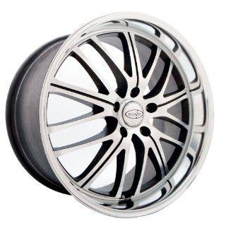 18x8 Privat Motiv (Graphite w/ Machined Face) Wheels/Rims 5x120