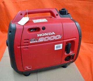 Honda EU 2000i Inverter Super Quiet Portable Compact Generator Camp