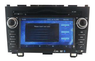 Honda CRV DVD GPS Radio iPod Analog TV Bluetooth Pip HD800 480 Touch