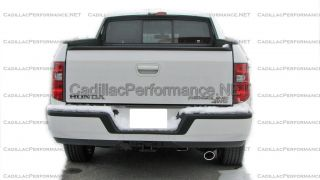 2006 2013 Honda Ridgeline Polished Exhaust Tip