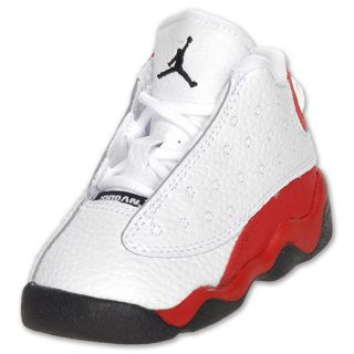 Boys Toddler Air Jordan Retro 13 white/black/v.red