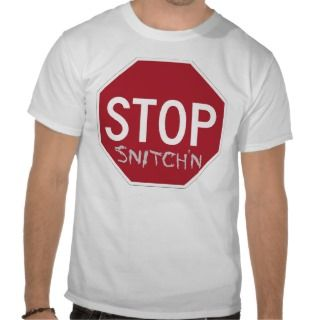 Anti Snitch Original No Rat Logo Tshirts