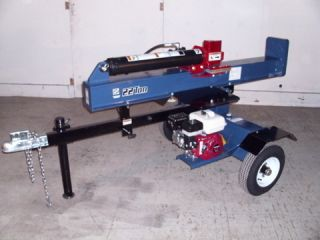 22 Ton Iron Oak Commercial Log Splitter Honda GX Commercial Engine