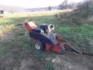 2004 Ditch Witch 1330 Honda Walk Behind Trencher Ride on 36 Bar