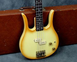 Hondo II Professional Longhorn Bass w Original Case