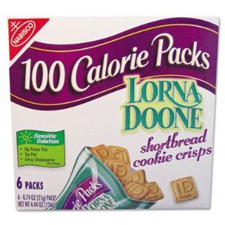 Nabisco 100 Calorie Packs Lorna Doone Cookies LNA01413: