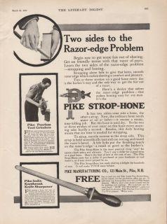 STROP HONE PEERLESS TOOL GRINDER KNIFE SHARPENER BLADE RAZOR MACHINE