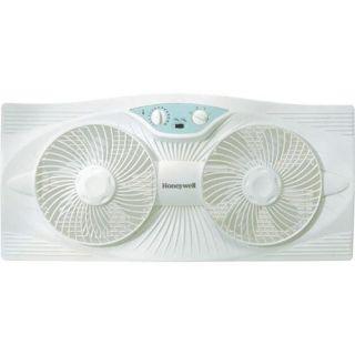 Honeywell Hw 305 Window Fan 3 Speed   Rain Resistant   12 Height X 24