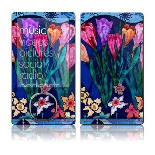 Silk Flowers Design Skin Decal Protective Sticker for Zune