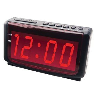 Jumbo Number Display Digital Alarm Clock: Health