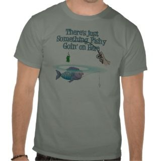 Something Fishy Going On Funny Fishing Gear Shirt