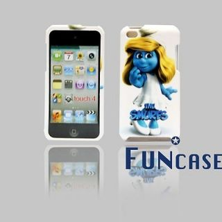 The Smurfs Smurfette iPod Touch 4 hard case with Faceplate snap on US