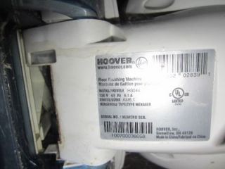 hoover floor finishing machine