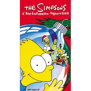 The Simpsons Christmas Special [VHS] Neil Affleck, Bob
