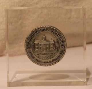 Hopkinton NH American Revolution Bicentennial Commemorative Coin