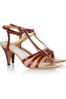 Maison Martin Margiela Leather and patent sandals   59% Off