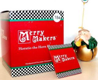 Horaio he Horn Blower Dep 56 Merry Makers Figurine Ornamen