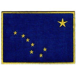 Alaska State Flag Embroidered Patch Iron On AK Emblem