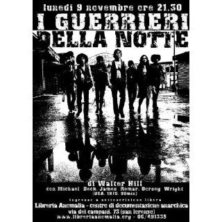 The Warriors Poster Movie Italian B 11 x 17 Inches   28cm