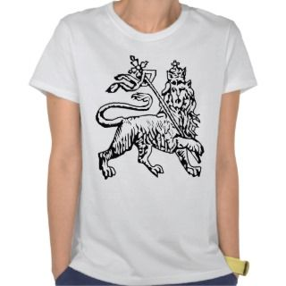 Rasta Lion top T shirts