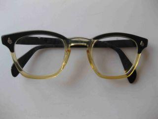 Vintage Eyeglass Frames Maine : Tart Optical Bryan Ebony Horn Rim Vintage Eyeglass ...