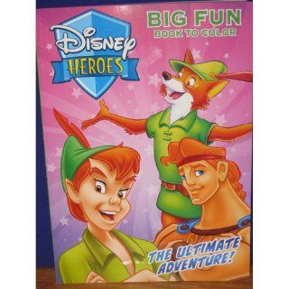 Disney Jungle Big Fun Book To Color Toys & Games