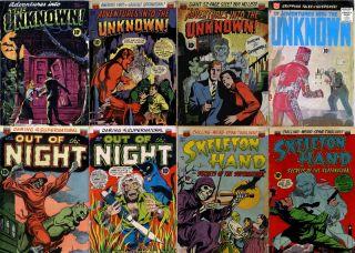 DVD Golden Age Horror Adventures Comics ACG B I Unknown