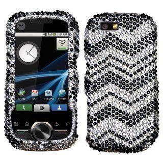 Motorola i1 Cell Phone Full Diamond Crystals Bling