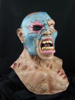 Wrestler Halloween Horror Latex Mask Prop New