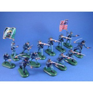 Britains Deetail Toy Soldiers American Civil War Union