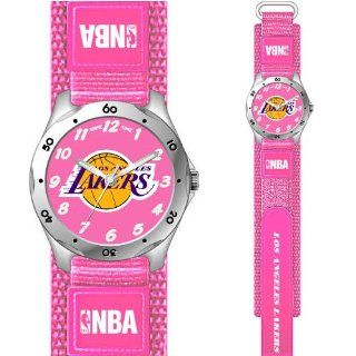 Los Angeles Lakers NBA Girls Pink Future Star Sports Watch