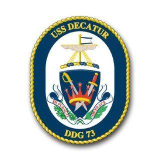 US Navy Ship USS Decatur DDG 73 Decal Sticker 3.8